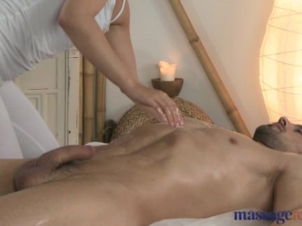 Massage Rooms Horny girl gives prostate wank
